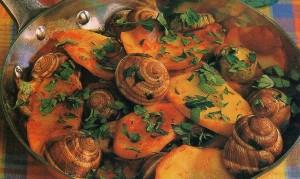 σαλιγκάρια με λαχανικά 1